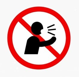 No loud talking in religious sites