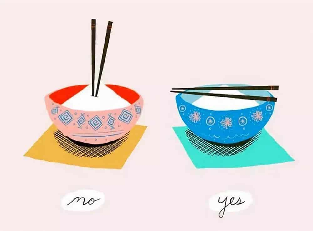 Place chopsticks parallel to each other over a bowl
