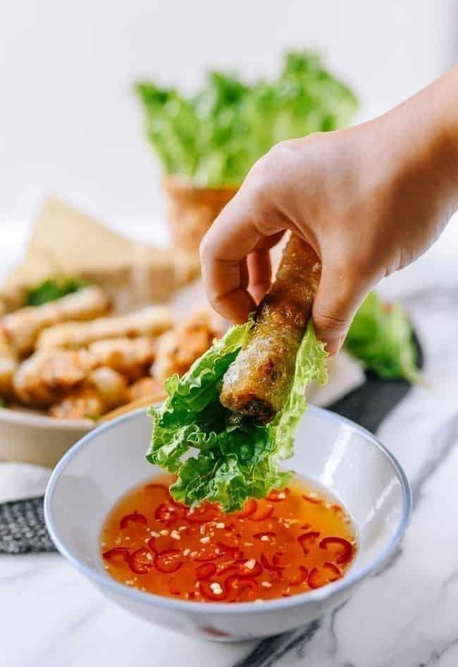 Cha Gio - Vietnamese fried spring rolls