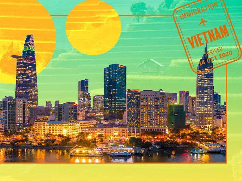 Hustle and bustle city - HCM city