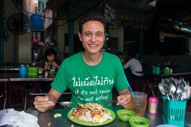 """Mark Wiens is trying """"ComTam"""". Signature foods in VietNam"""